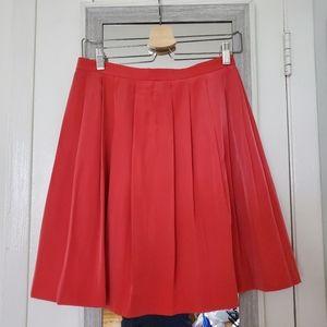 Uniqlo Pleated Woven Knee-length Skirt